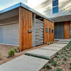 Modern Exterior by Designing Habitats