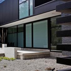 Modern Exterior by Element Design Build Inc.
