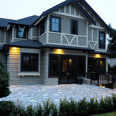 Traditional Exterior by Tavan Developments