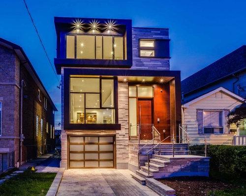 Modern 3 Story House Home Design Photos Decor Ideas