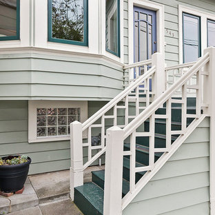 Ornate exterior home photo in San Francisco