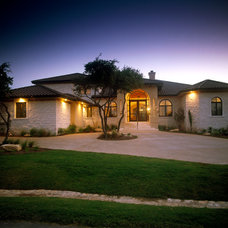 Mediterranean Exterior by Canyon Creek Homes, LP