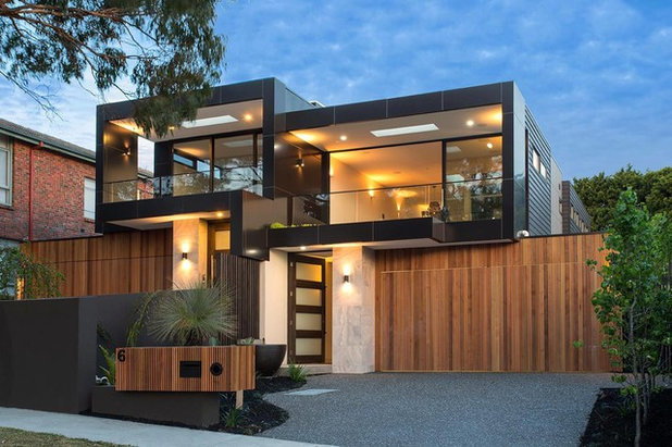 Contemporary Exterior by Madden Building Group