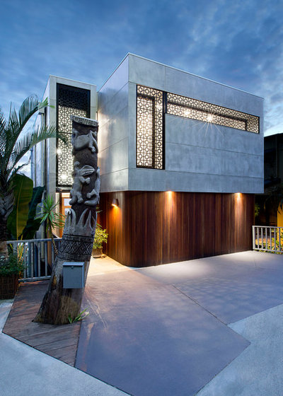 Modern Exterior by Jamison Architects