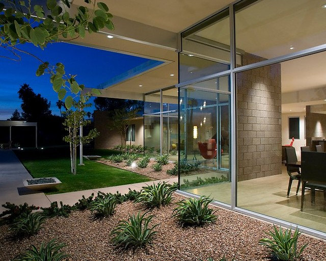 Contemporary Exterior by Western Window Systems