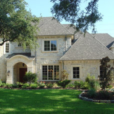 Traditional Exterior by SR Construction