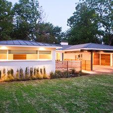 Contemporary Exterior by Modern Craft Construction, LLC