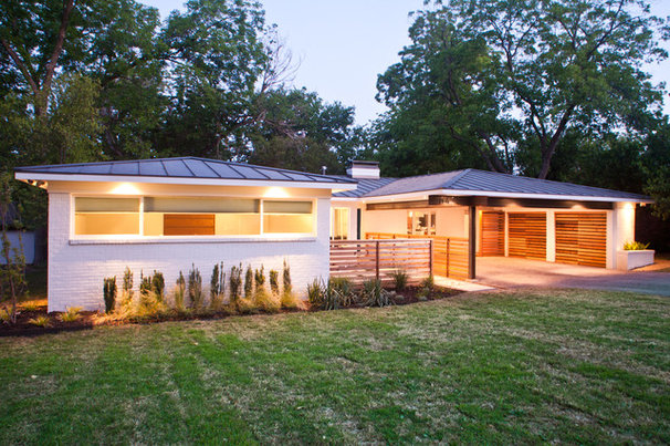 Contemporary Exterior by Modern Craft Construction, LLC