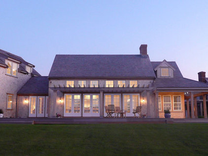 Traditional Exterior by JMS Architecture LLC