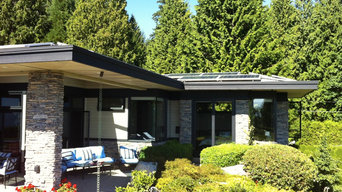 6kW solar system on contemporary home