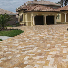 Traditional Exterior by Travertine Mart