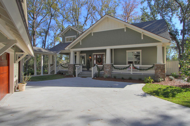 Craftsman Exterior by Reminiscent Homes, LLC.