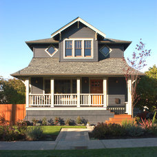 Craftsman Exterior by Color in Space Inc.