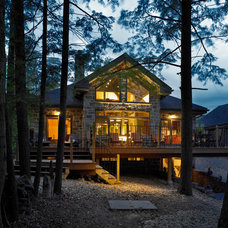 Traditional Exterior by Lindal Cedar Homes
