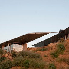Modern Exterior by David Hertz & Studio of Environmental Architecture