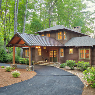 75 Wood Exterior Home Design Ideas - Stylish Wood Exterior Home ...