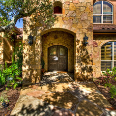 Mediterranean Exterior by Jeff Watson Homes, Inc.