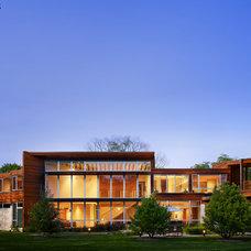 Contemporary Exterior by Thomas Roszak Architecture, LLC