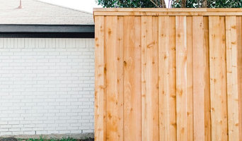 8' Privacy Fence, Cedar Pickets with trim - Rowlett, Texas
