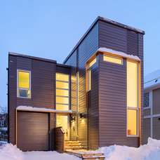 Contemporary Exterior by LineBox Studio