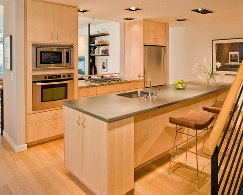 maple wood cabinets houzz