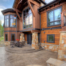 Traditional Exterior by Pinnacle Mountain Homes