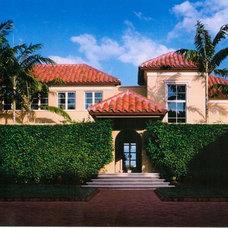 Mediterranean Exterior by Scott Himmel, Architect P.C.