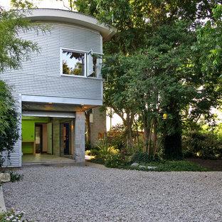 Trendy exterior home photo in Houston