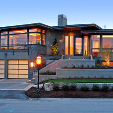 contemporary exterior by Infinity Homes NW, Inc