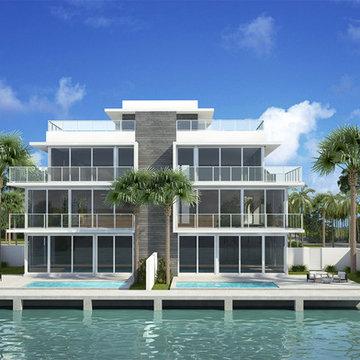 917 Bucida Road A   Delray Beach, FL   New-Modern Beach Area Townhomes  