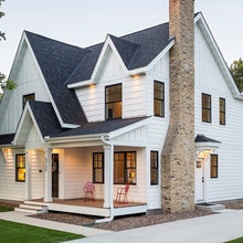 Houzz Tour: More Living Room and Light in a Minnesota Update