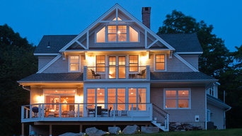 A Broad Gable House