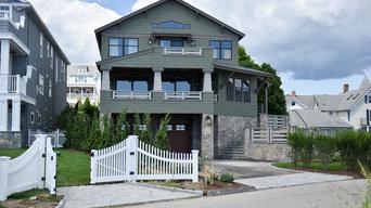 A Connecticut Shoreline House