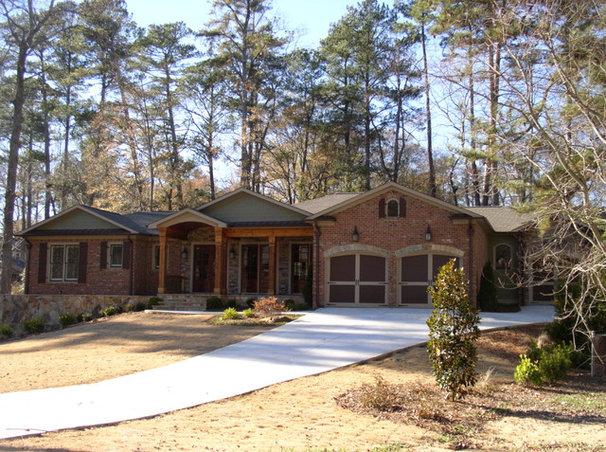 Eclectic Exterior by A Design Group Atlanta, LLC