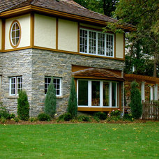 Traditional Exterior by Home Restoration Services, Inc.