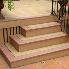 Contemporary Deck by Home Restoration Services, Inc.