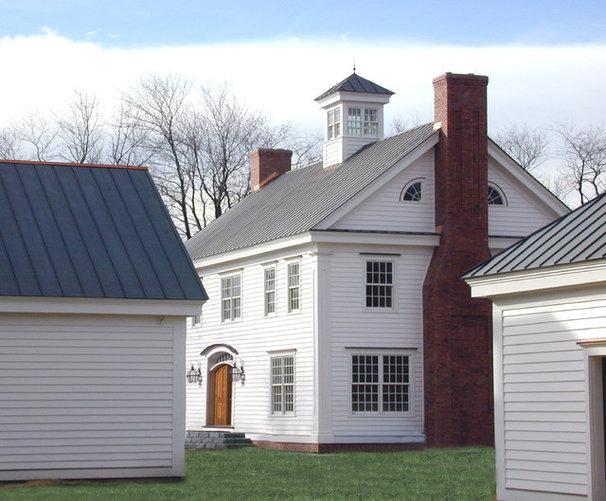 Farmhouse Exterior by Crisp Architects