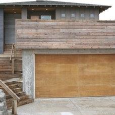 Contemporary Exterior by John Webb Construction and Design
