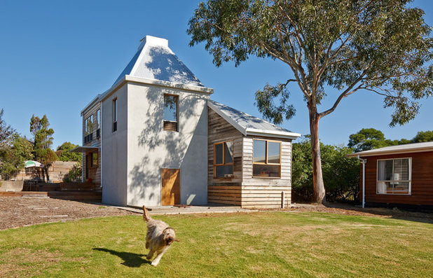 Country Exterior by Andrew Simpson Architects