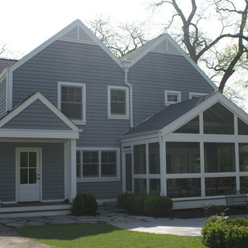 a house of six gables - the exterior