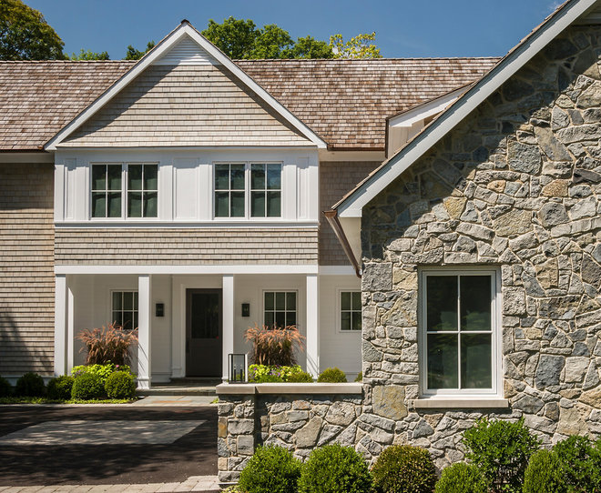 Traditional Exterior by Fraerman Associates Architecture