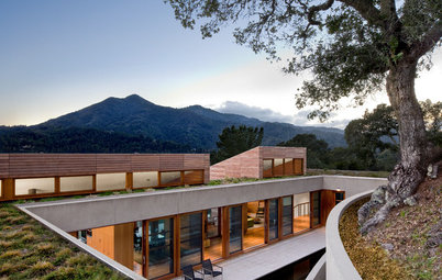 Visit a California Hillside House Rooted in Nature