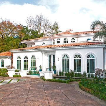 A Mediterranean Custom Home With a Modern Twist, by Mega Builders
