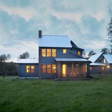 Contemporary Exterior by Cushman Design Group