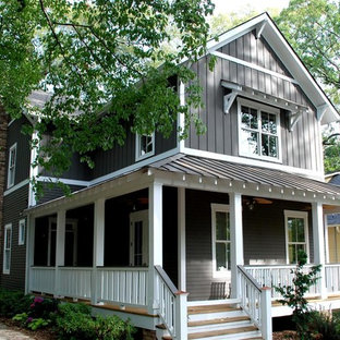 A new craftsman bungalow with historic charm.