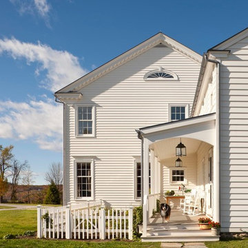 A New Farmhouse in Columbia County, New York