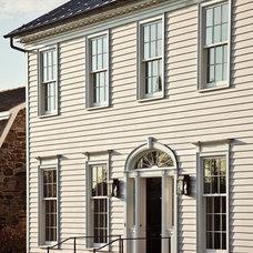 Farmhouse Exterior by John B. Murray Architect