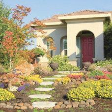 Mediterranean Exterior by Geno's Garden Design & Coaching