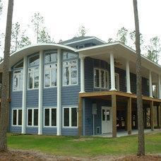 Eclectic Exterior by Coastal Design Center