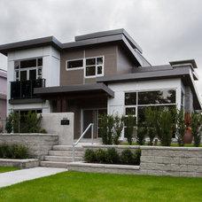 Modern Exterior by Kenorah Design + Build Ltd.